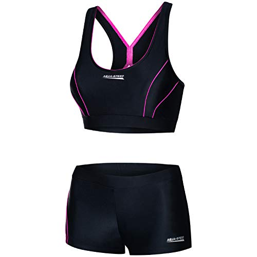 Aqua Speed Sport Zweiteiler Damen   Oberteil Bustier   Bikini Set  ...