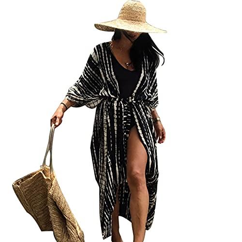 Jecarden Damen Strandkleid Bikini Cover Up für Damen Strandponcho...