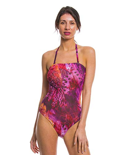 Kiniki Amalfi Purple Tan Through Sonnendurchlässiger Tube Badeanzug...
