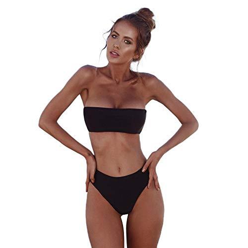 Ducomi Kim Zweiteiliger Damen-Badeanzug - Bikini mit Push-Up-BH und...