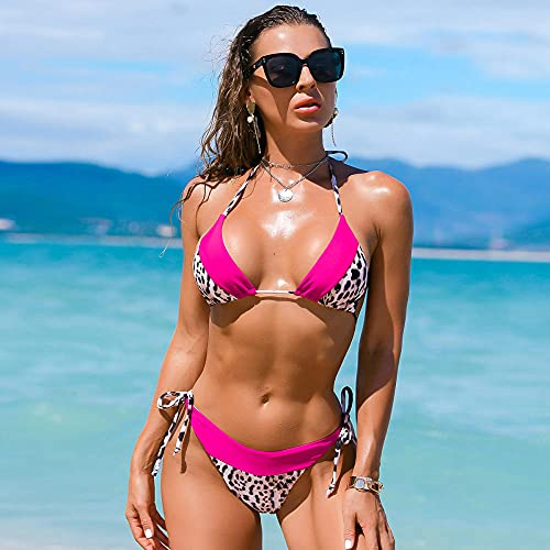 Bikini Badeanzug Damen Sexy Bikini Frauen Badeanzug Leopard Badeanzug...